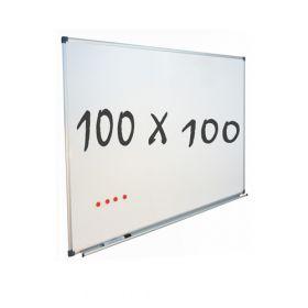 whiteboard 100x100 cm magnetisch