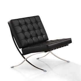 silla barcelona negra
