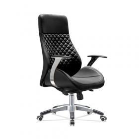 Design bureaustoel zwart
