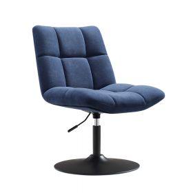 Design fauteuil Lille - Velvet blauw