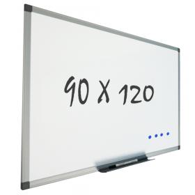 Whiteboard wandmontage 90x120 cm