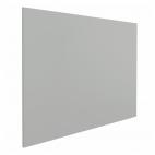 Whiteboard zonder rand - 80x110 cm - Grijs